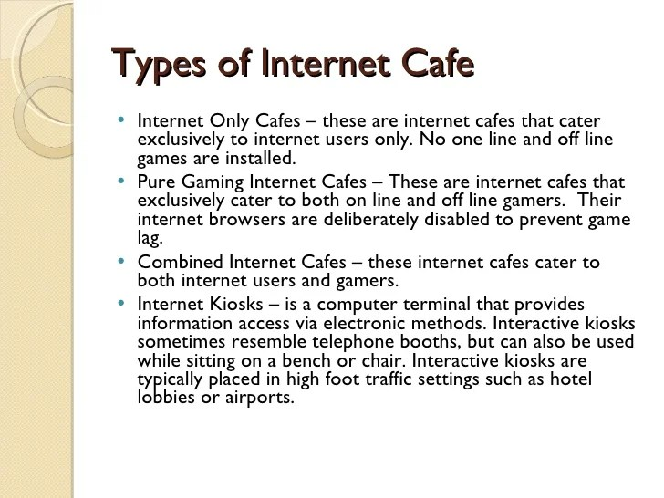 Internet Cafe Business Plan Template Costumepartyrun