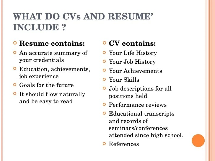 should my cv contain all job experiences