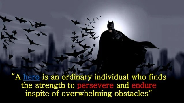 Batman Why Do We Fall Wallpaper Batman An Inspiration To All