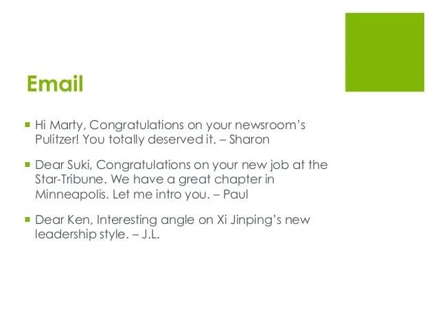 congratulation email for new job - Romeolandinez - congrats on new position