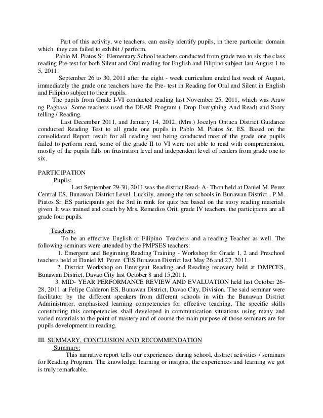 Home Europass Narrative Report Sample For Preschool Order Custom Essay