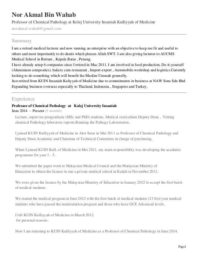 pathologist cv - Romeolandinez - consultant pathologist sample resume