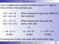 Math Worksheets Multiplying Positive And Negative Numbers ...