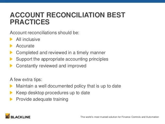 account reconciliation template