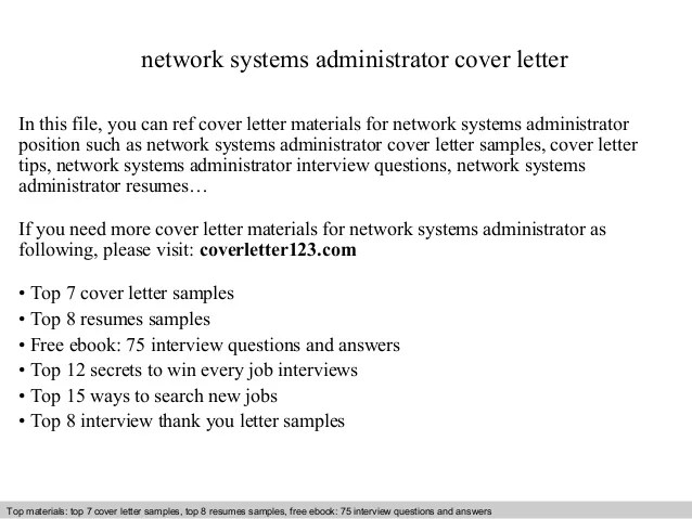system administrator cover letter examples best ideas of windows