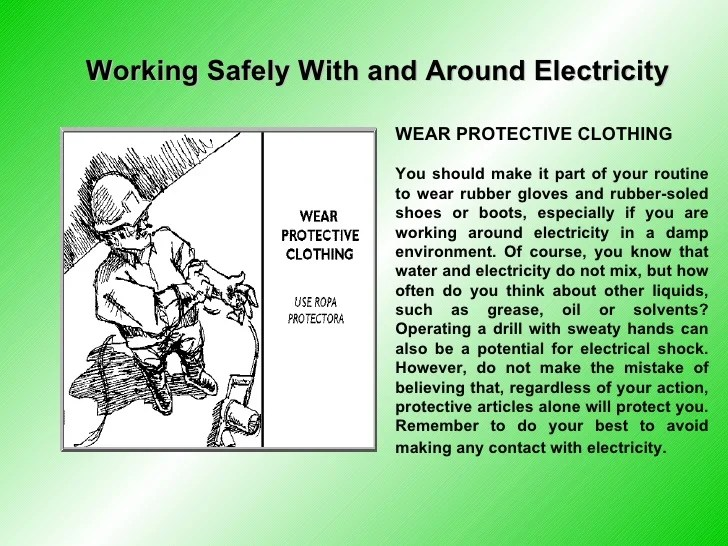 New Electrical Safety Present2009