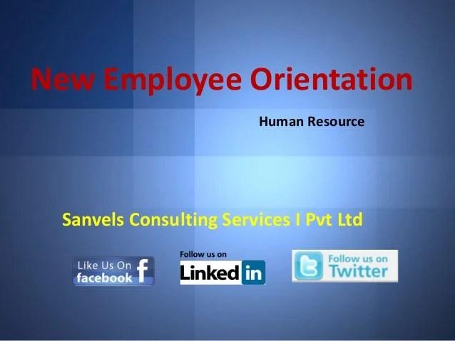 new hire orientation presentation template