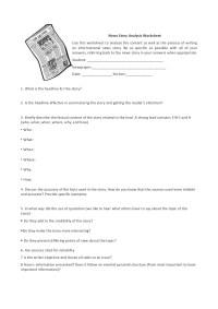 Photo Analysis Worksheet - Geersc