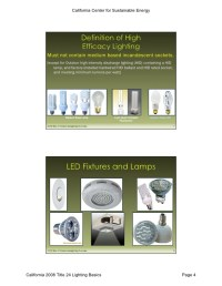 High Efficacy Lighting Title 24 | Decoratingspecial.com