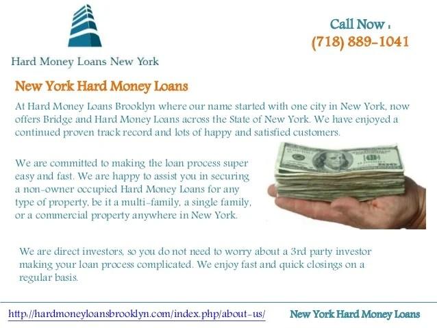 New York Hard Money Loans