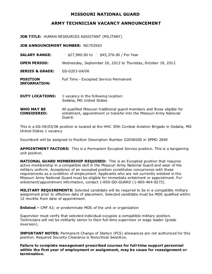 Bio Example For Army Board Free Resume Pdf Download
