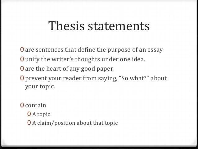 comparison essay thesis example - Tutlinayodhya