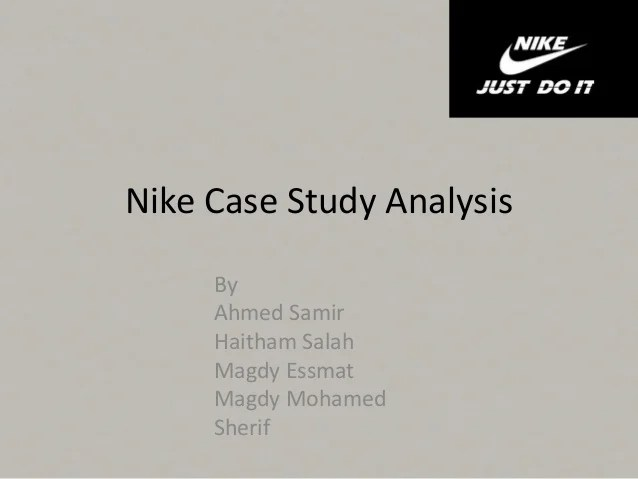 nike case study - Jolivibramusic - Case Analysis