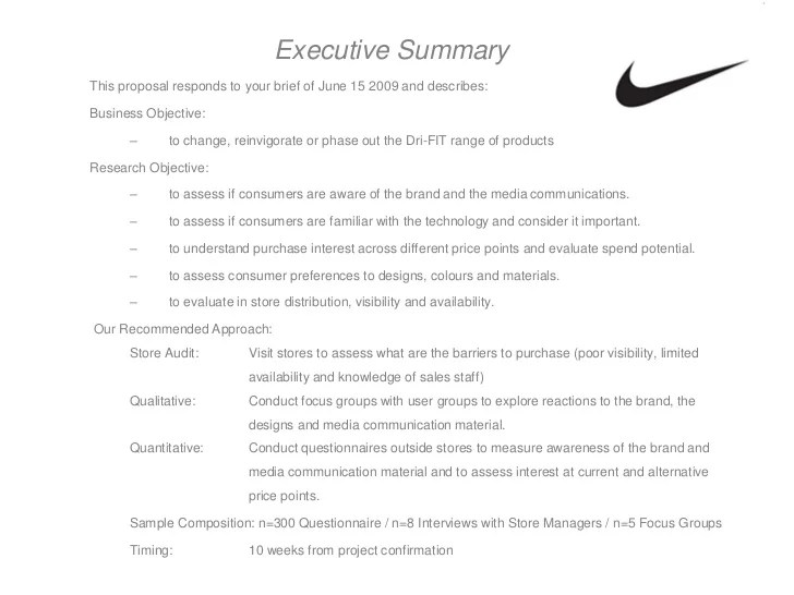 Nike Restructure Plan Is A Copy Of Adidas Business Insider Market Research Assignment