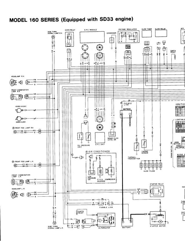 wiring diagram nissan td27