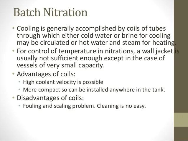 Nitration
