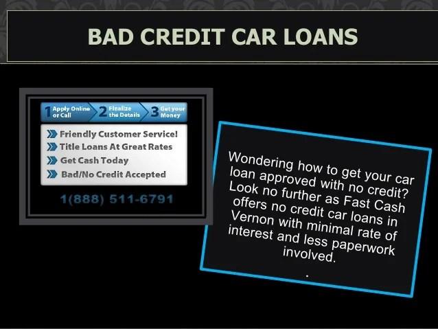 Get Fast Cash Car Title Loans in Vernon