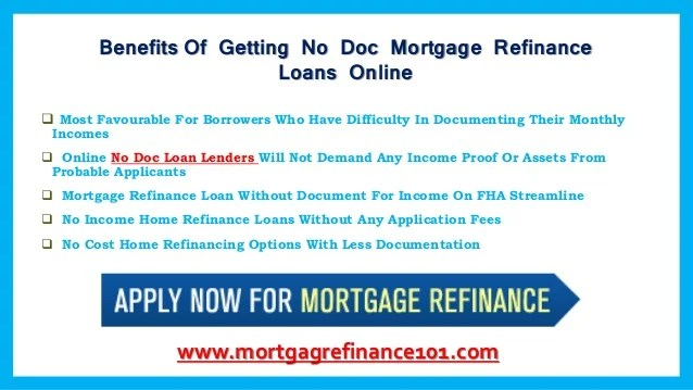 How Can No Doc Mortgage Loans Work For You With Low Rates – Locate No…