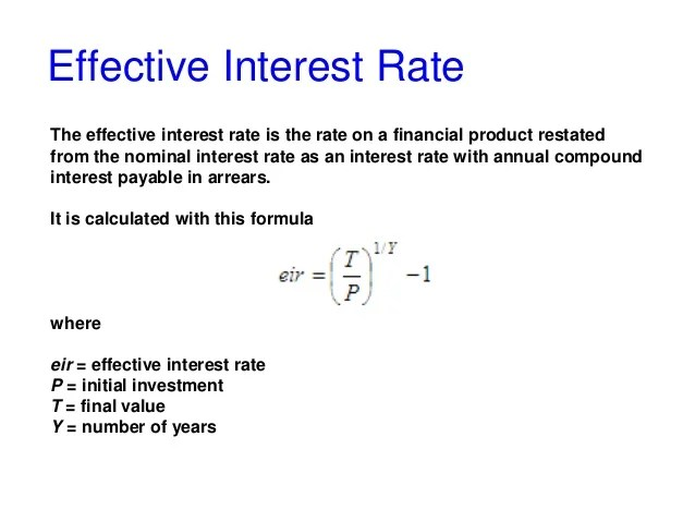 Nominal and effective interest rate with Matlab