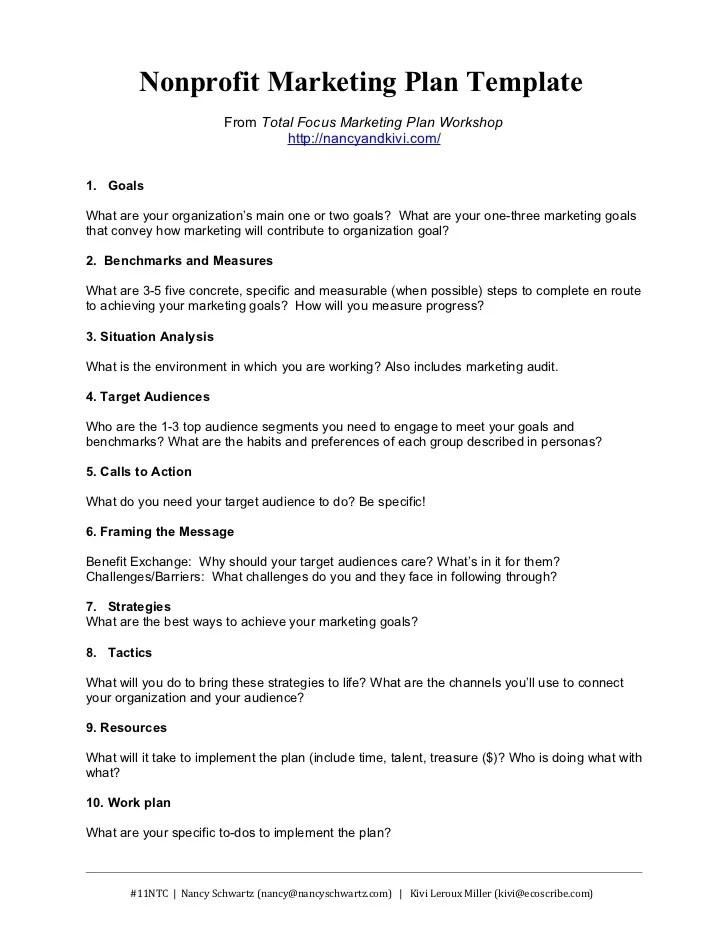 simple marketing plan example - Boatjeremyeaton