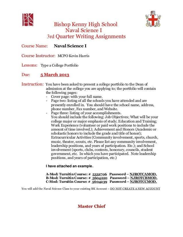 How To Write A Cv Ns1 3rd Quarter Writing Assignment 2012 13 With Example