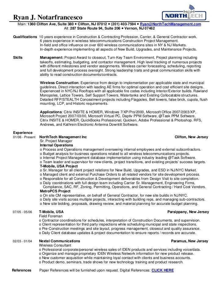 wireless consultant resume - Jolivibramusic