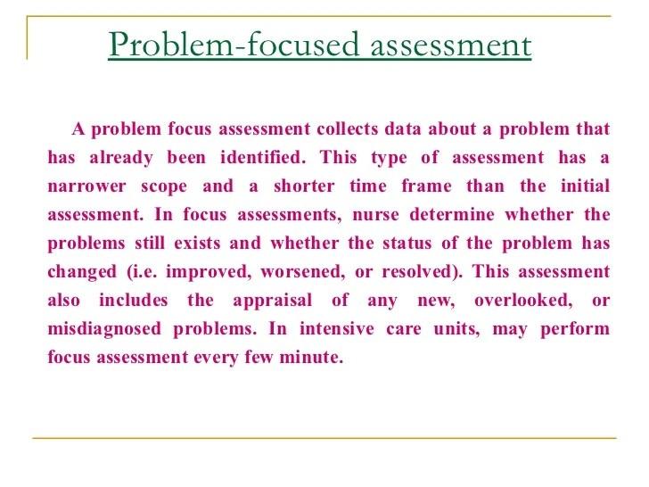 nursing assessment example - Romeolandinez