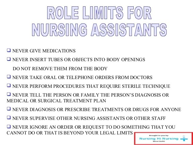 what are the duties of a nursing assistant - Josemulinohouse - Nursing Assistant Job Description