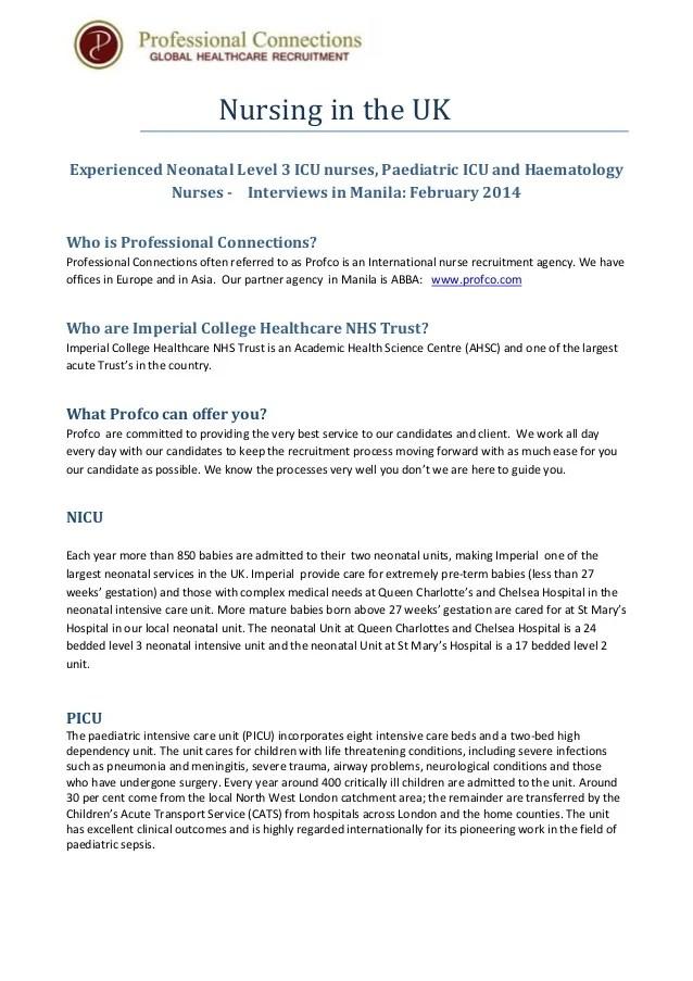 How To Write A Resume Kelly Services Australia Nursing In Uk Filipino Nurses Feb 2014 Recruitment 1
