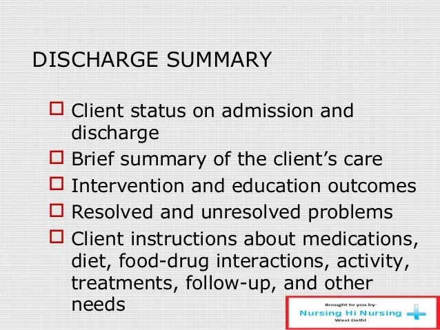 Discharge summary template surgery costumepartyrun documentation maxwellsz