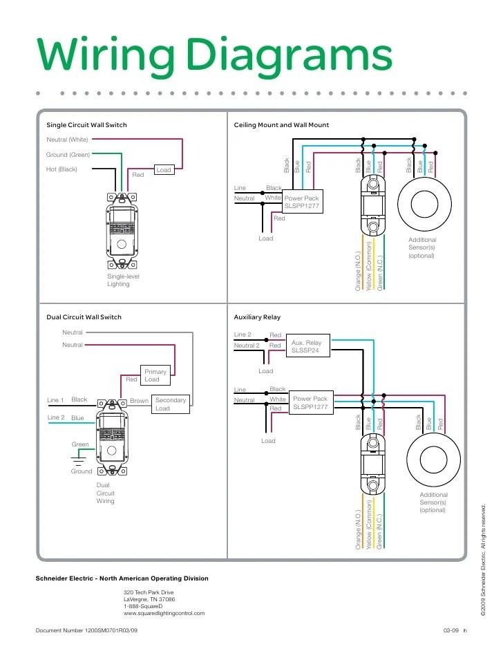Wattstopper Wiring Diagrams - Wiring Diagram Progresif