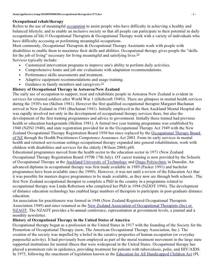 resume for graduate school occupational therapy websites doctor of occupational therapy online medical degree atsu resume