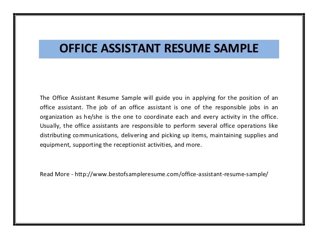office administration sample resumes - Alannoscrapleftbehind - administration office resume