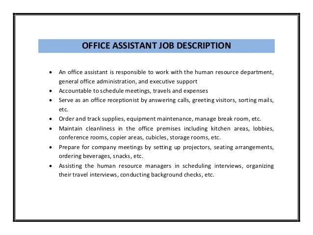 Office Clerk Job Description For Resume Perfect Resume 2017 - office clerk job description