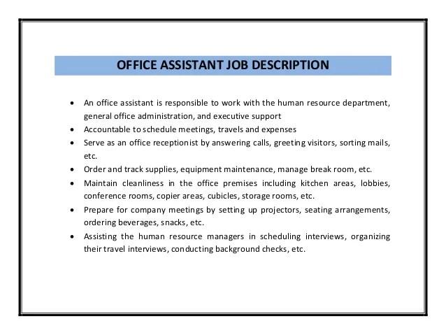 Recruitment assistant resume