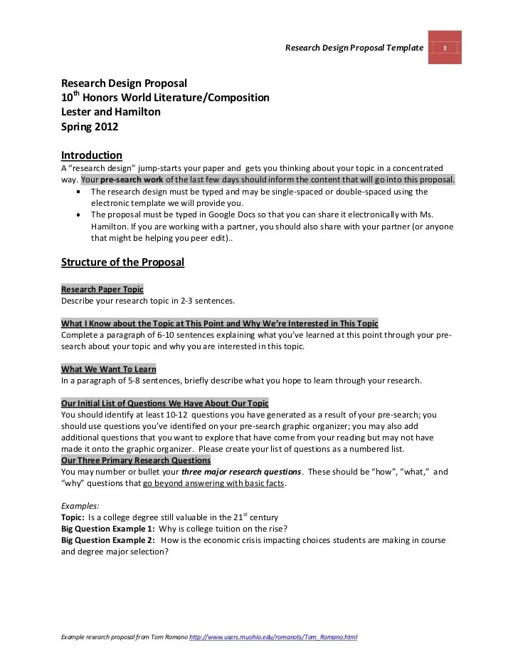 Example Of A Proposal Essay  Resume Cv Cover Letter