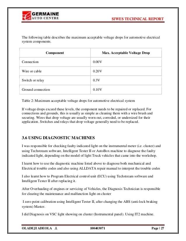 technical report template - Onwebioinnovate - it report template