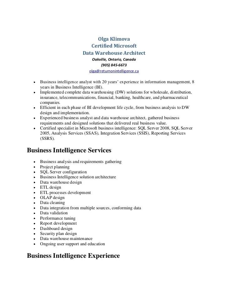 data warehouse resume - Goalgoodwinmetals