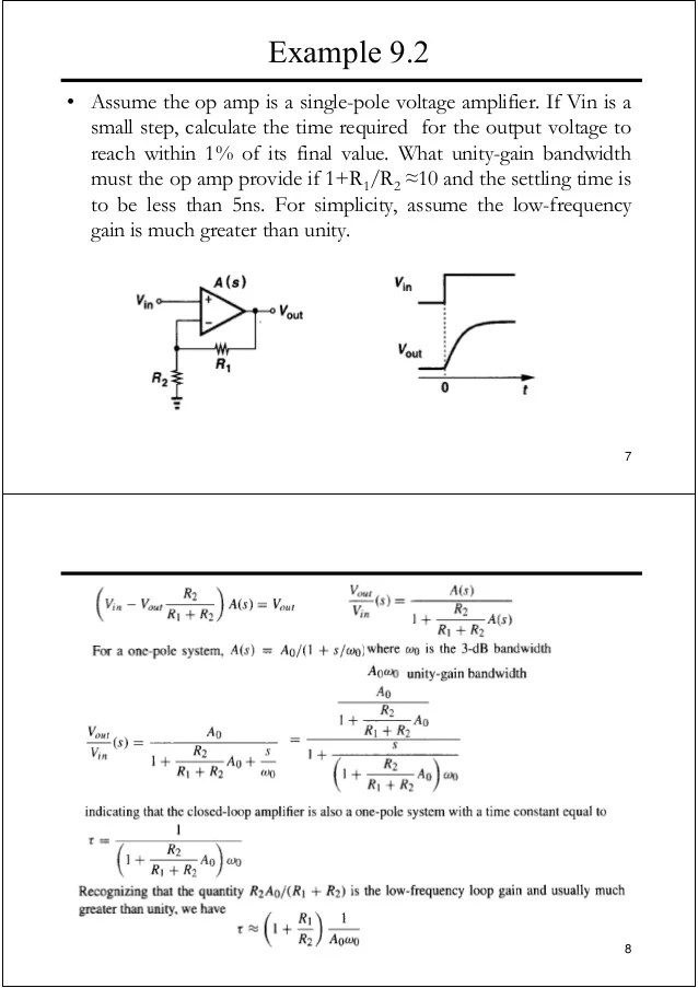 Operational Amplifiers I