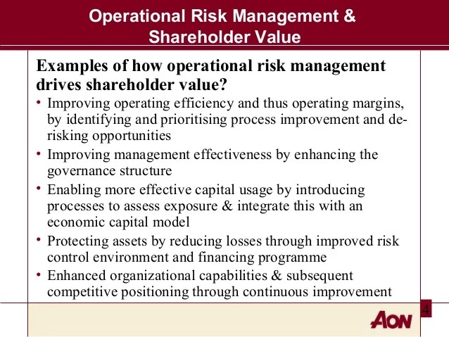 operational risk framework template costumepartyrun