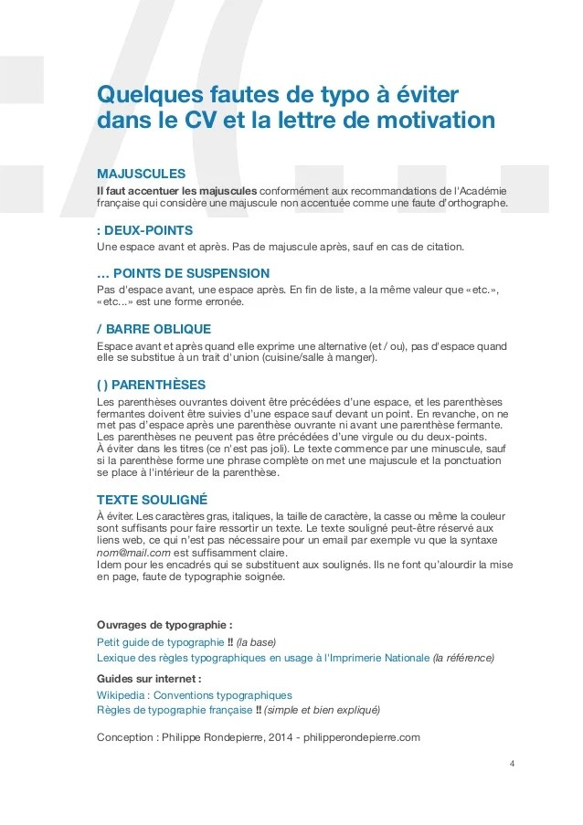 lettre de motivation obligatoire cv