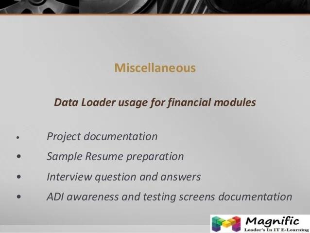 oracle hrms testing resume sample