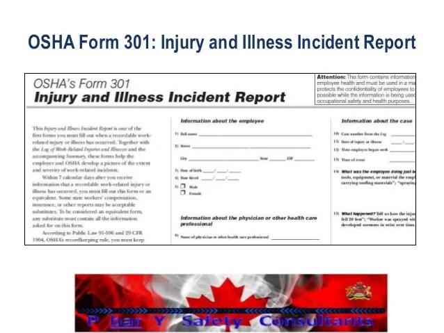 incident report pdf