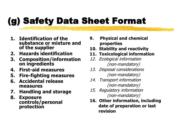 Outstanding Msds Index Template Pictures - Resume Ideas - namanasa