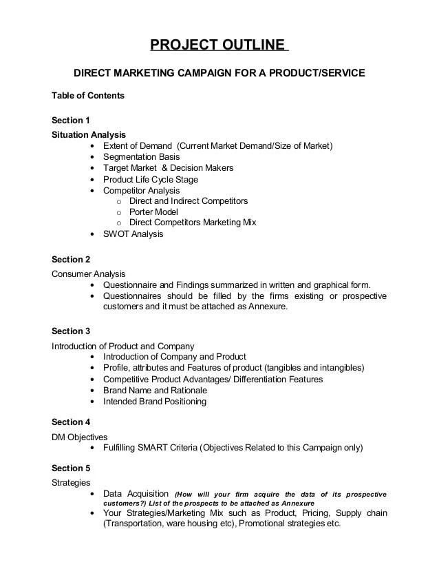 science project outline example - Maggilocustdesign