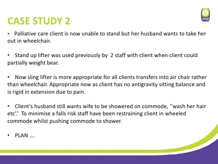 case study aged care
