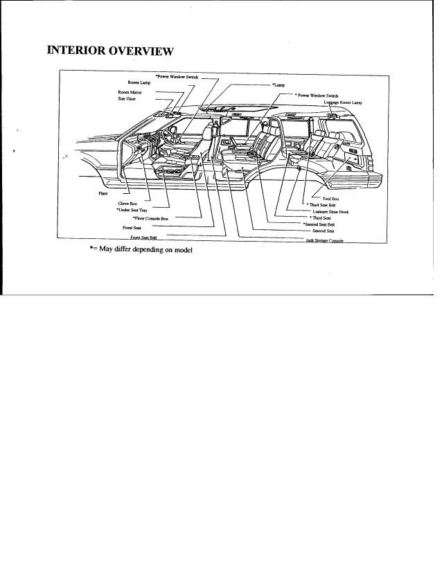 pajero mk2 fuse diagram