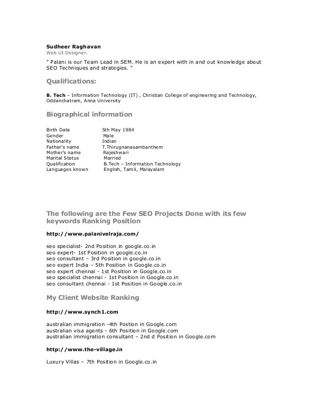 ppc specialist resume - Minimfagency - seo specialist sample resume