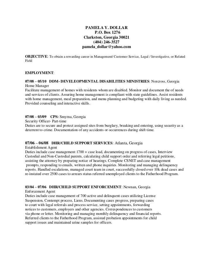 probation officer resume - Boatjeremyeaton