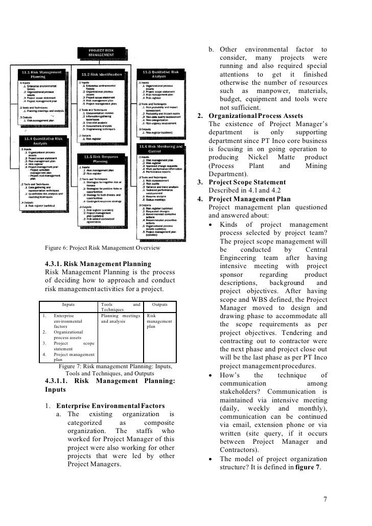 electrical risk management plan